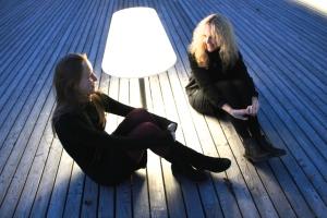 Antje Rößeler & Sanna Ruohoniemi Photo: Sami Tainio