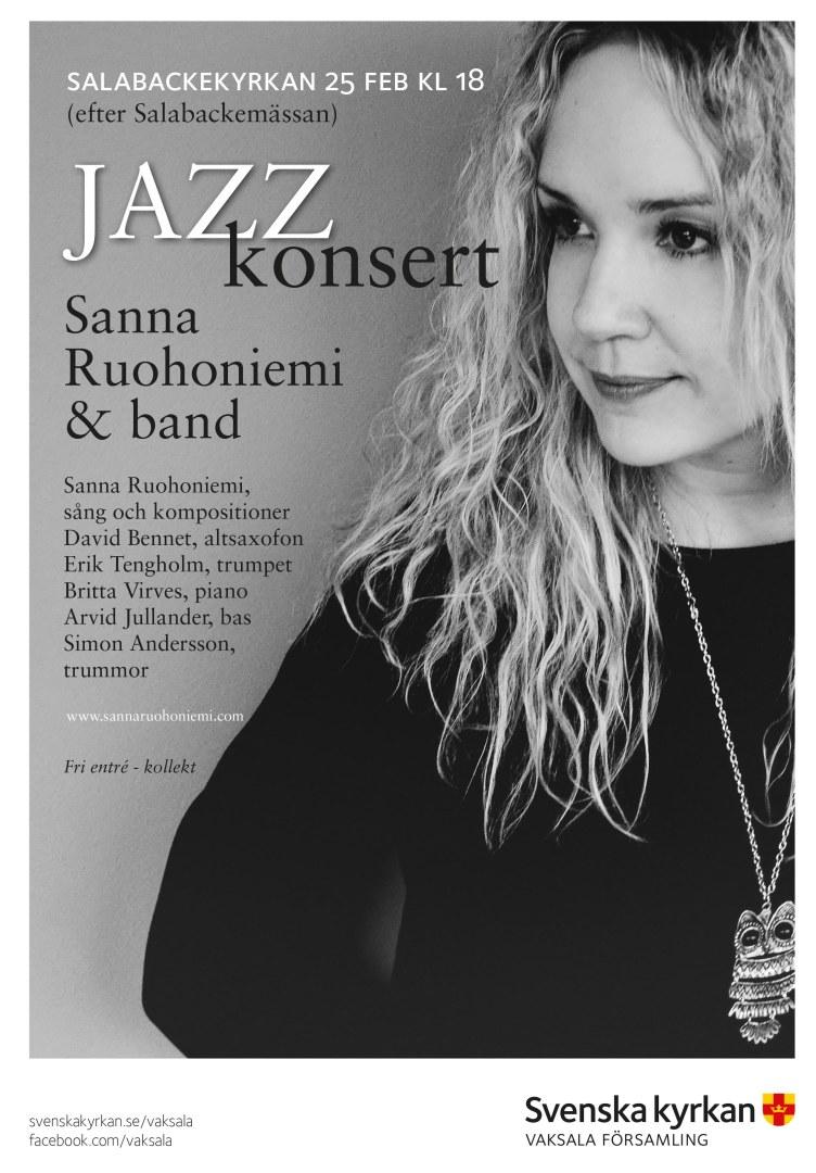 JazzkonsertSannaRuohoniemi
